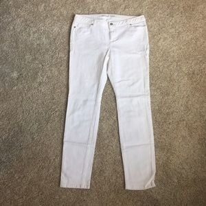 Michael Kors White Skinny Jeans